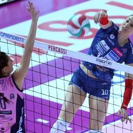 Super Paggi, ottava stagione alla Foppa «Resto a Bergamo: sogno che si avvera»