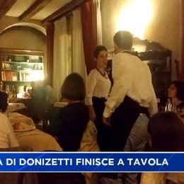 Donizetti night. L'opera di Gaetano finisce in tavola