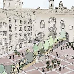 Piazza Vecchia verde (e non solo) Ecco le foto in anteprima - Guarda