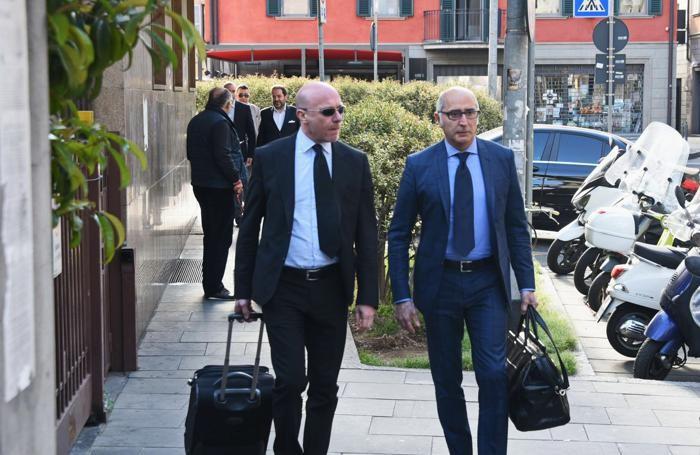 Paolo Camporini (sin.) e Claudio Salvagni
