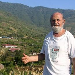 «Se ne è andato l'umile guerriero» Addio al volontario Franco Pini