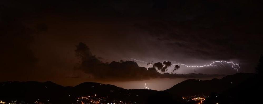 Ordinaria criticità per temporali L'avviso è per sabato 2 luglio