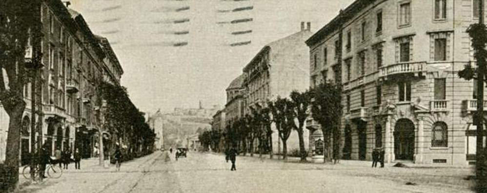 Viale Roma, due passi nel 1929 La «porta» della città di ieri e di oggi