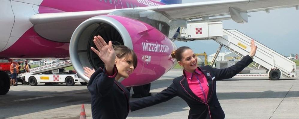Wizz Air, primo atterraggio a Orio per il nuovo Airbus A321ceo - Foto