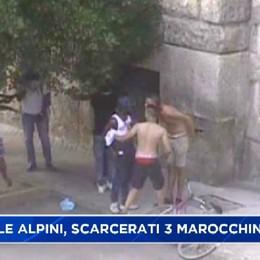 Rissa in Piazzale Alpini, scarcerati i tre marocchini