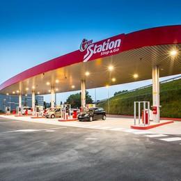 Nuovo distributore accanto a Oriocenter Prezzi dei carburanti molto competitivi