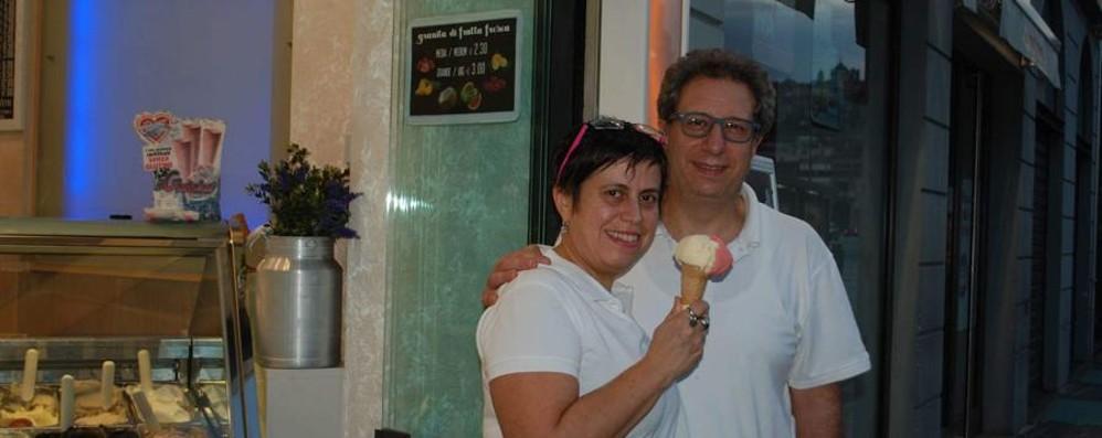Ornella e Saverio, gelatieri da una vita «Il sogno? Continuare a viaggiare»
