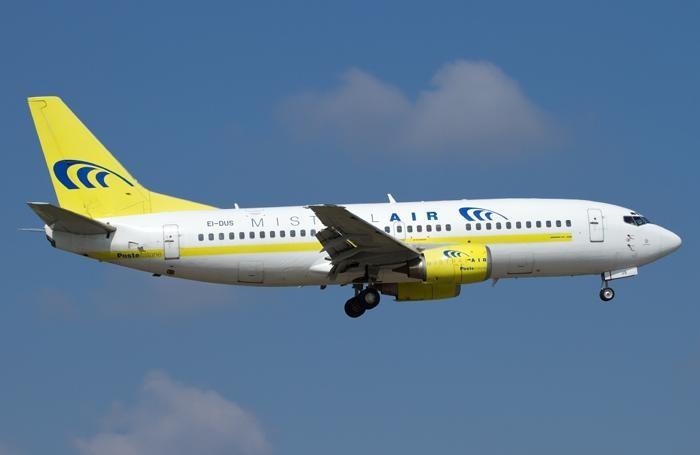 Un aereo della Mistral Air