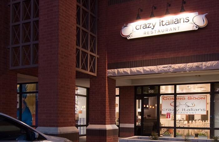 Il «Crazy Italians», il ristorante di Gianpaolo Ongaro
