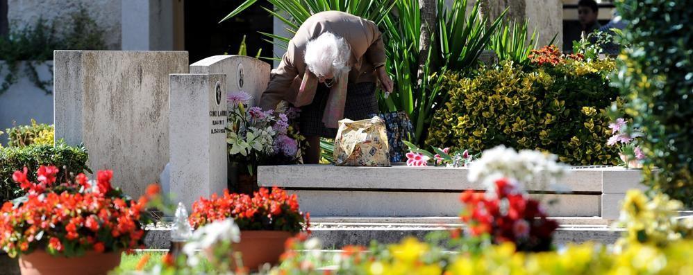 «Non rubate i fiori ai defunti Sono un simbolo di amore»