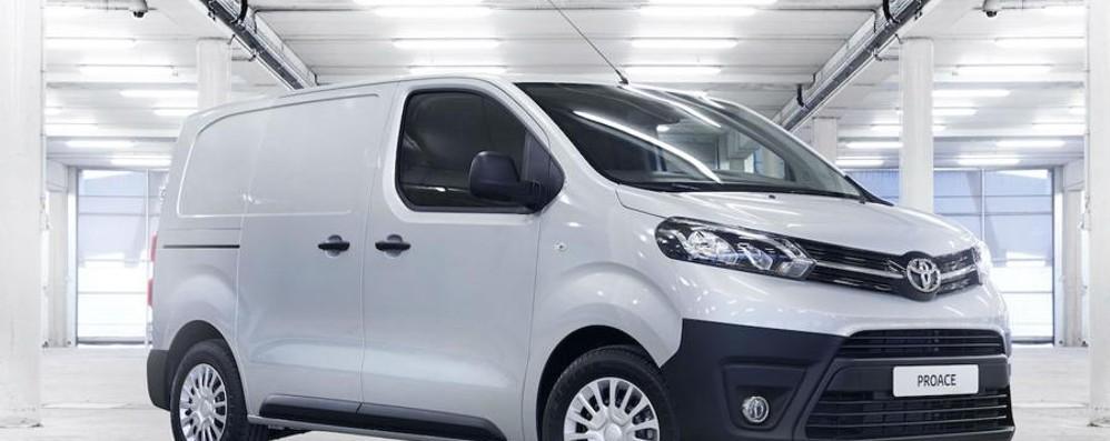 Arriva anche in Italia il Proace Van di Toyota