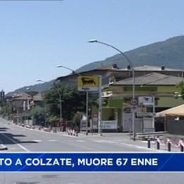 Schianto mortale a Colzate, vittima 67 enne