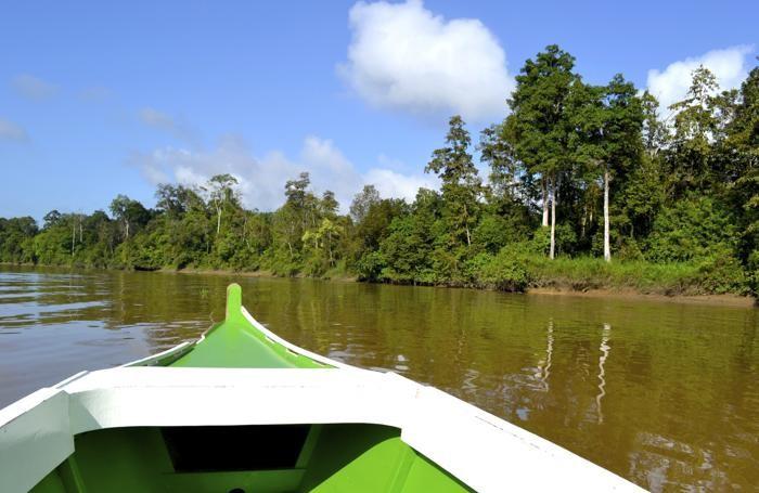 Il fiume Kinabatangan è lungo 560 chilometri. È il fiume più lungo del Sabah da cui prende il nome anche la riserva naturale omonima situata all'interno della provincia di Sandakan.