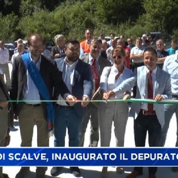 Valle di Scalve, inaugurato il depuratore.
