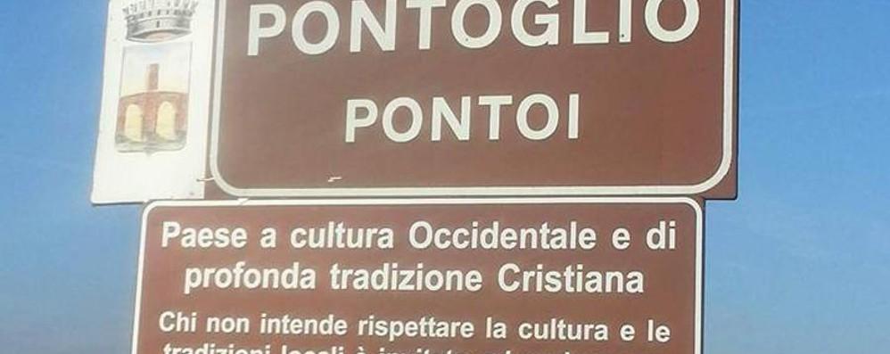 Pontoglio condannato per i cartelli «Discriminazione collettiva»