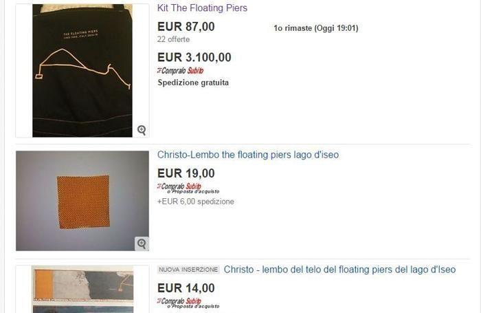 Il kit dei volontari con l'opzione «Compralo subito» costa 3.100 euro (screenshot del 2 luglio)