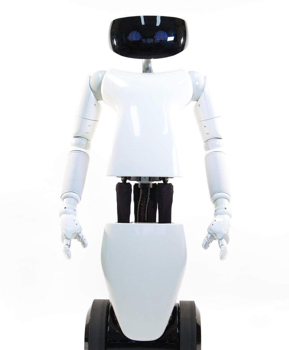 L'Istituto italiano di tecnologia di Genova ha «dato alla luce» R1-your personal humanoid: pesa circa 50 kg e è realizzato per il 50% in plastiche e per il 50% in fibra di carbonio e metallo