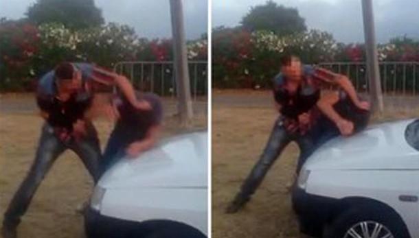 Botte a disabile: arrestato responsabile