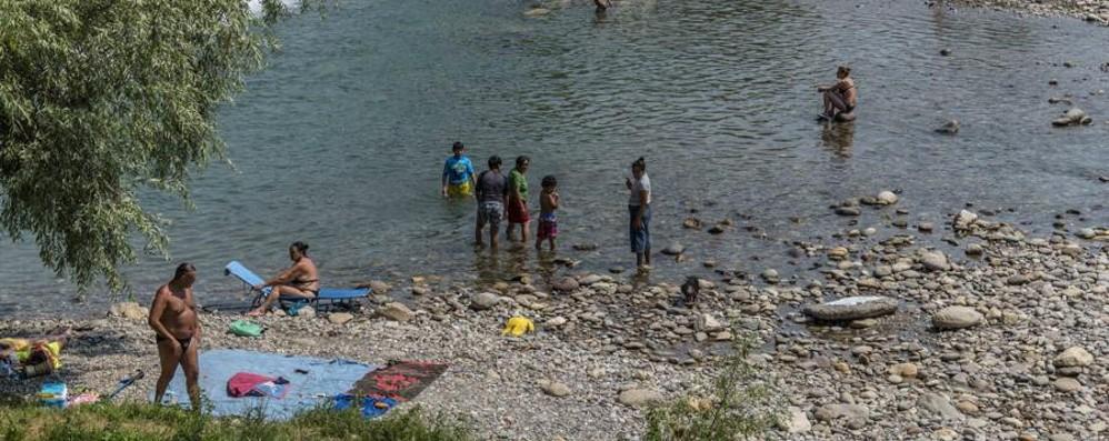 Alzano: rifiuti e divieti non rispettati Ora lungo il fiume tolleranza zero