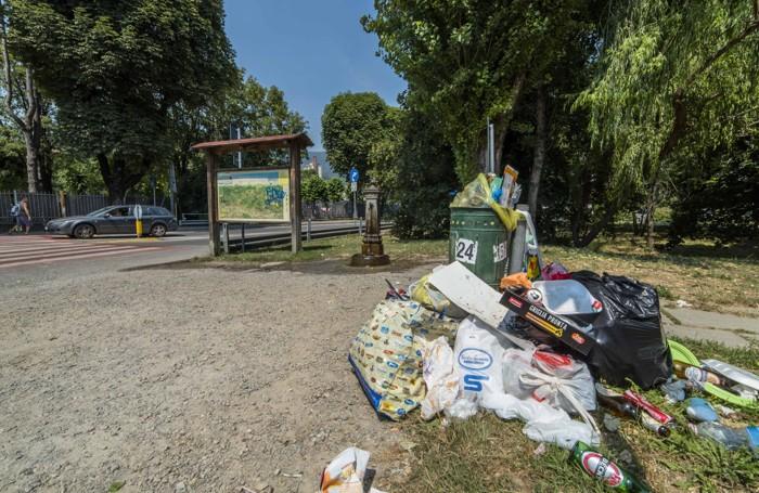 I rifiuti abbandonati