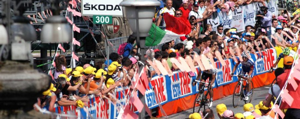 Il Giro d'Italia del Centenario nel 2017 Conferme: almeno una tappa a Bergamo