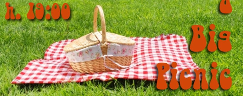 Alla Trucca per farsi nuovi amici Il 31 luglio «Just A Big Picnic»