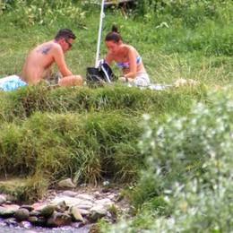 Controlli sul fiume ad Alzano?  Il popolo delle grigliate va a Villa di Serio