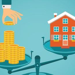 Calano i prezzi degli immobili - i dati Ma Bergamo è in controtendenza