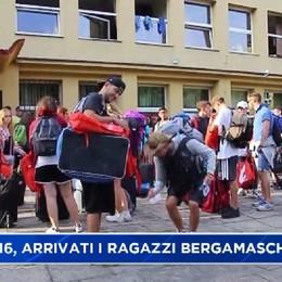 GMG: i ragazzi bergamaschi arrivati a Cracovia