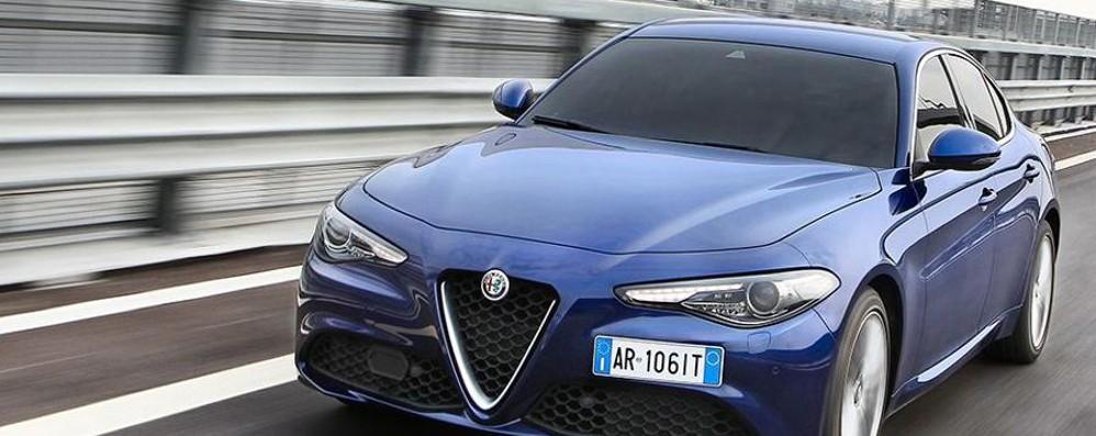Alfa Romeo Giulia 2.0 Via agli ordini