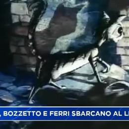 Cinema Bergamo al lido con Bruno Bozzetto e Luca Ferri