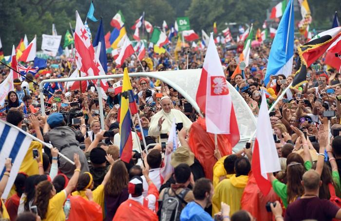 Papa Francesco a Cracovia venerdì 28 luglio