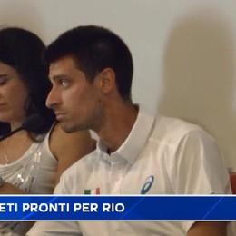 Milani e Giupponi alla vigilia di Rio 2016