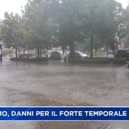 Bergamo. Danni per il forte temporale
