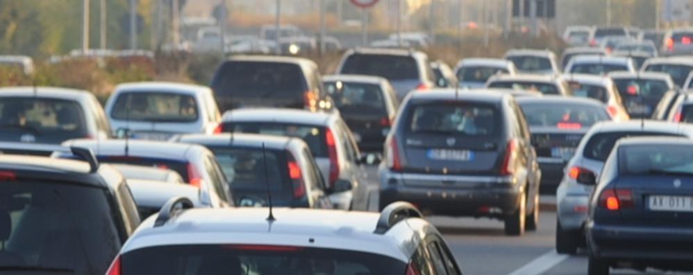 Dopo il maltempo, ecco il traffico Domenica pomeriggio tutti in coda