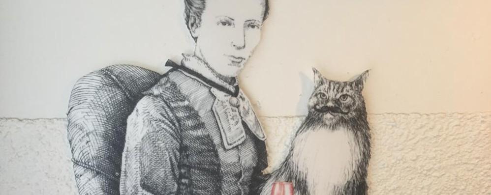 C'è profumo di Ottocento tra i baffi disegnati da Bonanno