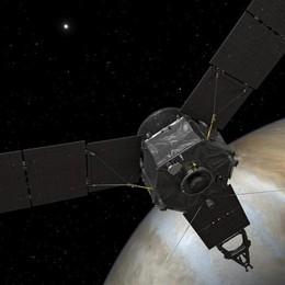 La sonda Juno nell'orbita di Giove «La cosa più difficile mai fatta dalla Nasa»