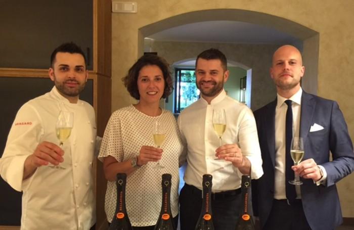 Da sinistra Christopher Carrara, Francesca Moretti, Enrico Bartolini e Marco Locatelli