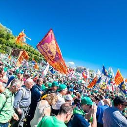 Festa nazionale della Lega a Treviglio «Qui dove abbiamo vinto da soli»