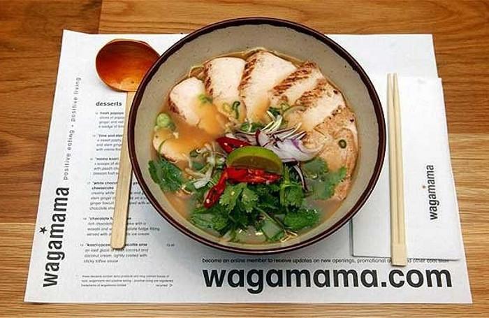 Wagamama, cucina giapponese