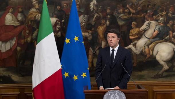 Renzi, vero problema sono derivati Ue