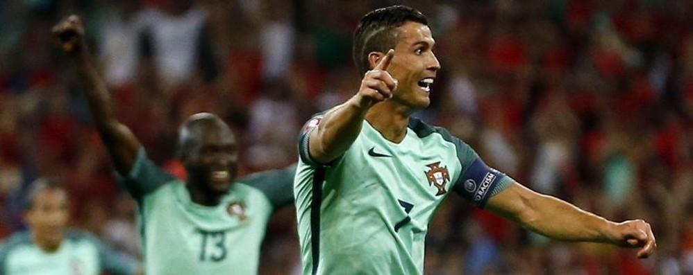 Ronaldo e Nani si risvegliano Anche il Galles esce dall'Europa