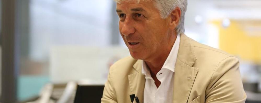 Gasperini a L'Eco: «Prima la salvezza Ma non è vietato parlare di Europa»