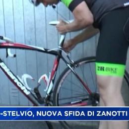 Bormio-Stelvio in bici, la nuova sfida di Zanotti
