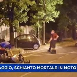 Caravaggio, schianto mortale in moto
