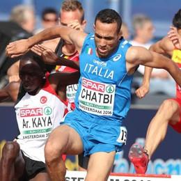 Chatbi ok nei 3.000 siepi: niente medaglia ma conquista il minimo per l'Olimpiade