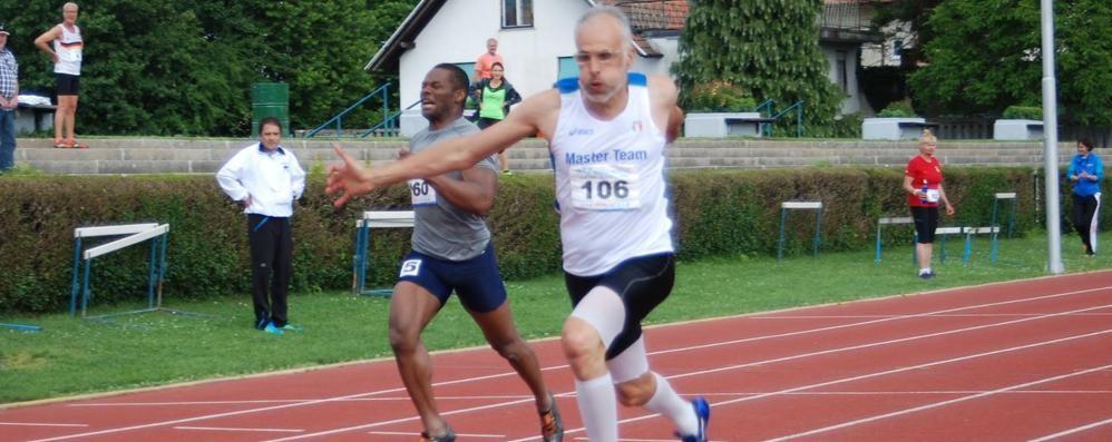 Da Sant'Omobono, e di corsa... Ecco l'infermiere più sprint del mondo