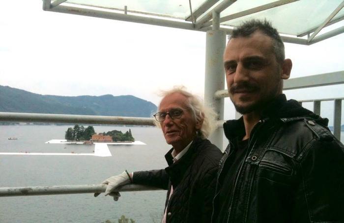 Tommy Bonicelli con Christo