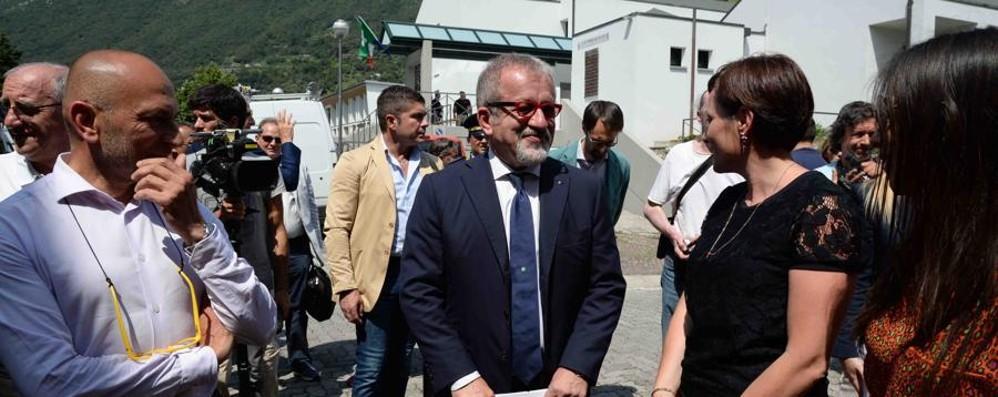 Maroni: «Infrastrutture e sanità Bergamo al centro dell'attenzione»