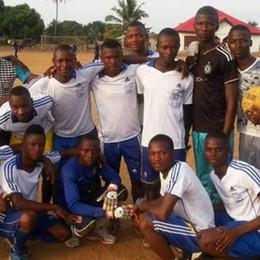Matteo, la Sierra Leone e lo sport per la speranza